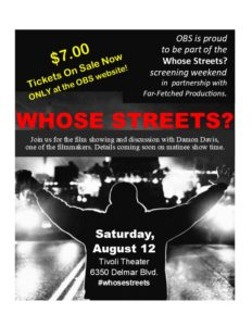 Whose Streets? Film Showing