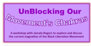 Unblocking our Movement's Chakras @ Progressive Books | St. Louis | Missouri | United States
