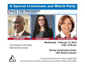 A Special Livestream & Watch Party @ Rowan Community Center | St. Louis | Missouri | United States